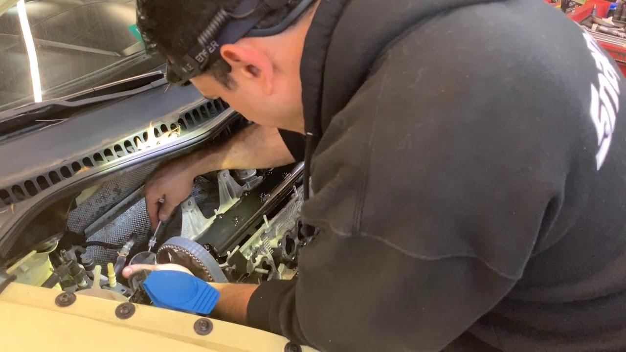 2005 VW BEETLE Cylinder head gasket Part 2