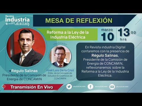MESA DE REFLEXIÓN: REFORMA A LA LEY DE LA INDUSTRIA ELÉCTRICA