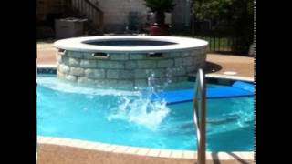 Reverse video epic jump out of pool #2