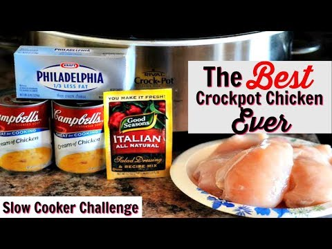 BEST CROCKPOT CHICKEN EVER | SLOW COOKER CHALLENGE | HOSTED BY MS. VEE & KENYA'S DECOR CORNER