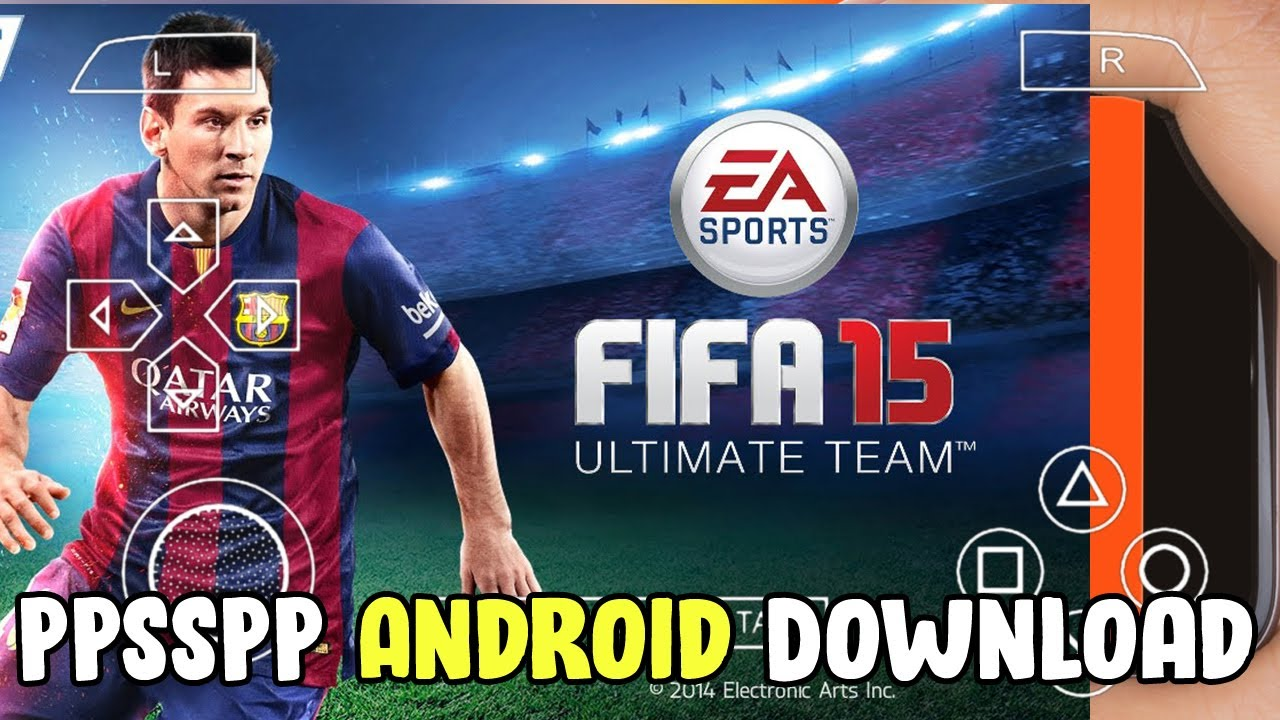 FIFA Soccer 15 PPSSPP ISO Download Highly Compressed ...