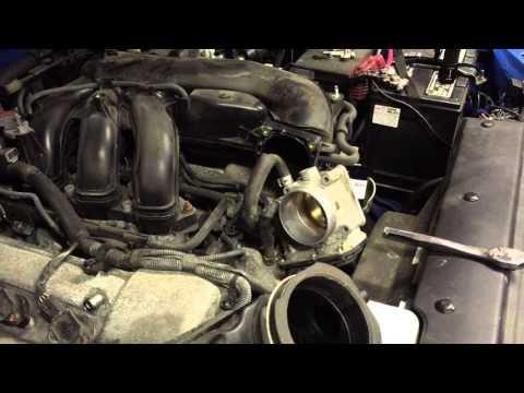 FJ Throttle body cleaning