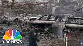 Investigation Underway After Nashville Vehicle Explosion | NBC Nightly News