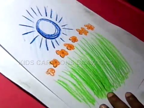 How to draw simple easy independence day drawing for kids step by step