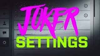 Joker Top 3 BEST 2018 SETTINGS For Critical Ops