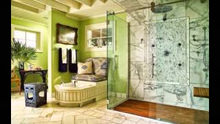 Красивые интерьеры ванных комнат. Ванная комната