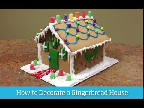 How to Decorate a Gingerbread House | Lennar's How to U