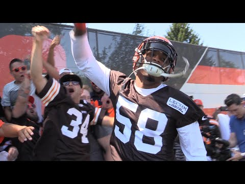 Experience Day 1 of Browns Training Camp