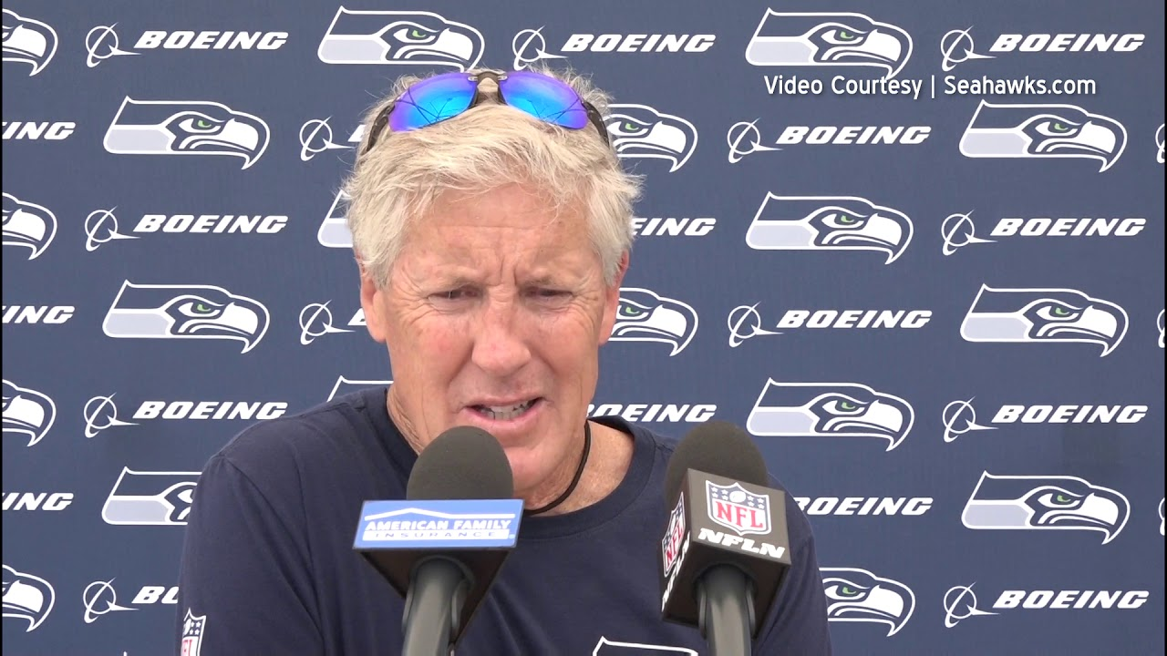 Pete Carroll on Seahawks Mini Camp 2019-06-11