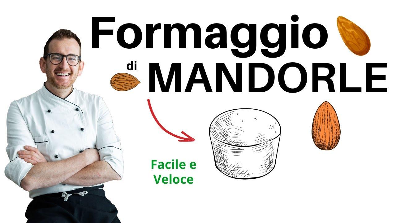 Formaggio di Mandorle tipo Mandorella (formaggio vegano)