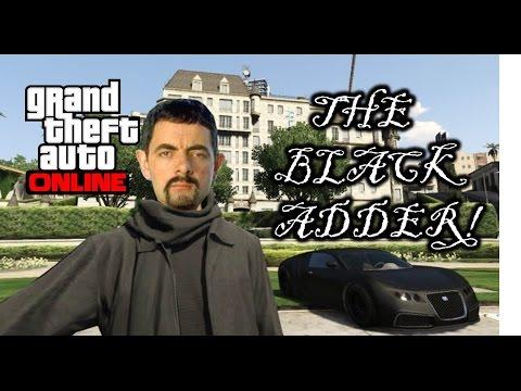 GTA V Online THE BLACK ADDER Episode 1: The Black Assassin!