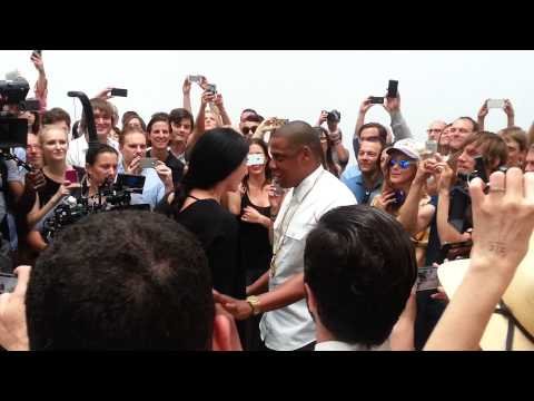 Me At Jay-Z's Picasso Baby Video Shoot Pt 2 (Marina Abramovic)