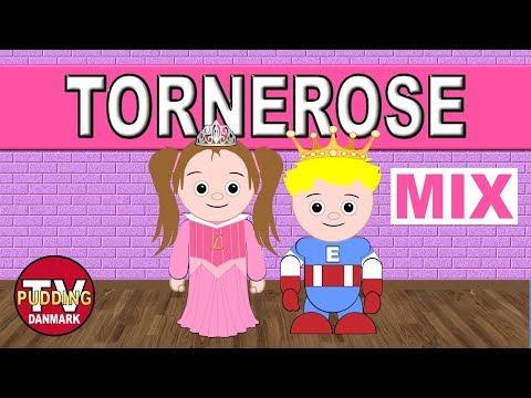 Tornerose var et vakkert barn - Danske børnesange MIX