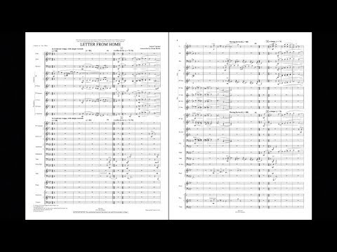 Letter from Home by Aaron Copland/arr. Brian Belski