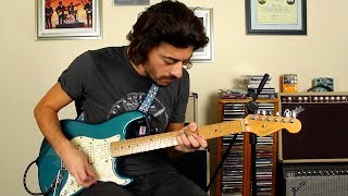 Hendrix Chord Trick Lick lesson
