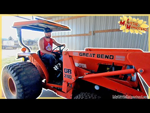 g&e-get-a-tractor-to-fix,-pantry-barn-door-art-&-bathroom-safety-bar-install-|-weekly-peek-ep231