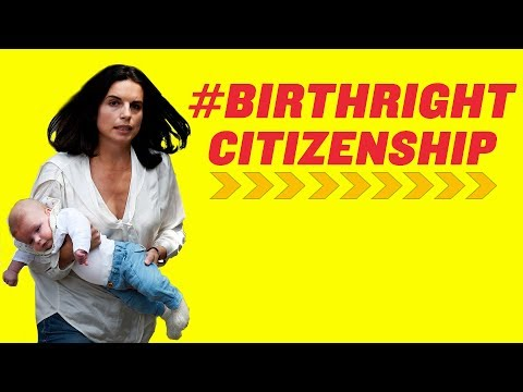 Illegal Immigration And Birthright Citizenship | America Uncovered