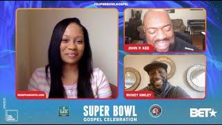 John P. Kee and Rickey Smiley talks the Super Bowl Gospel Celebration with PhaShunta