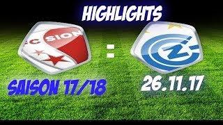 Fc Sion vs Fc Gc Zürich (26.11.17)