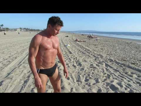 Adrian Toader-Williams - Personal Message from Santa Monica Beach to Otilia and Arnold - 18 Oct 2012