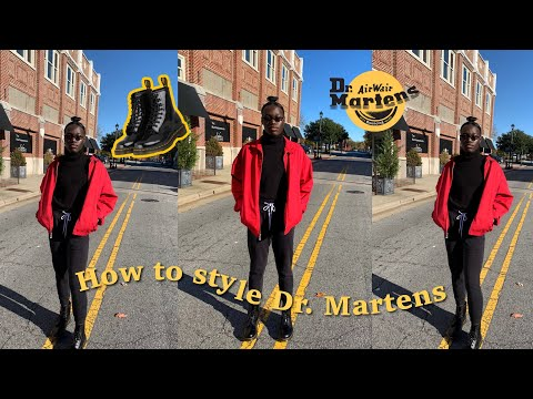 How to Style Dr. Martens in 2020| Lookbook