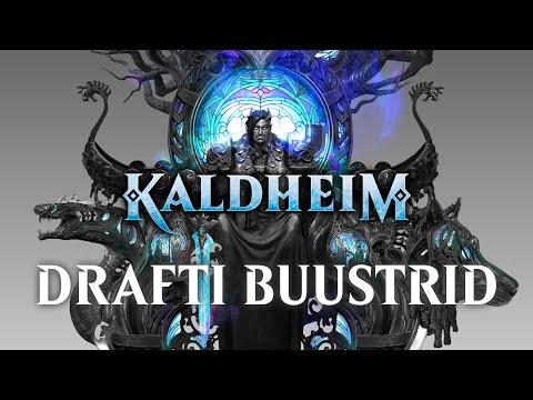 Kaldheim Drafti Buustrite avamine