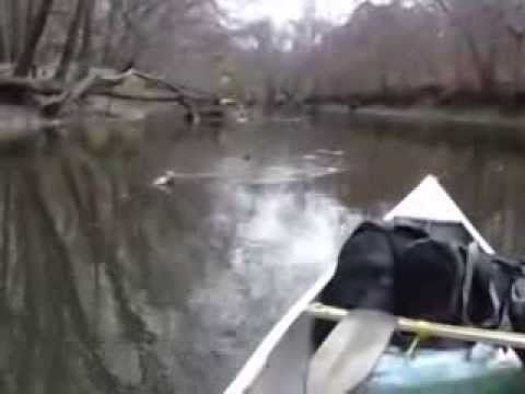 Trial run canoeing Ohio