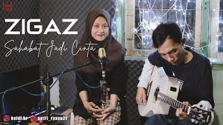 Zigaz - Sahabat Jadi Cinta (Puput x Heldi Hr Cover)   Studio Session
