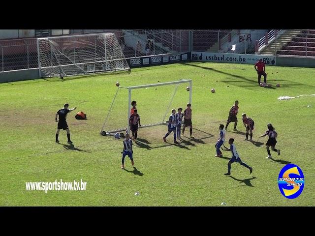 Gols de Nacional 1 X 1 São Paul cat  sub 11 campeonato  paulista de 2019