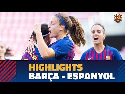 [HIGHLIGHTS] FC Barcelona Women's Team 2 - Espanyol 0