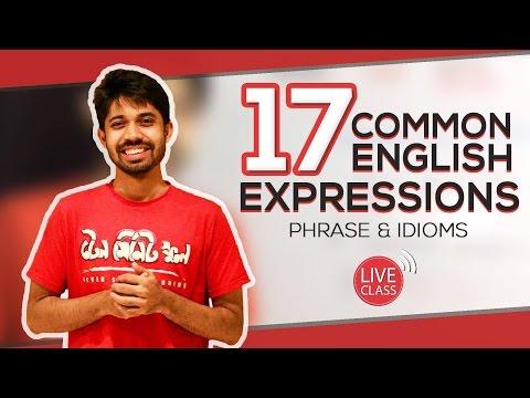 17 Common English Expressions (Idioms & Phrases) by Ayman Sadiq