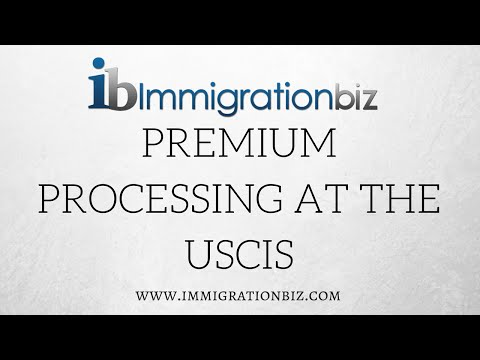 Visa to the USA | Premium processing at the USCIS