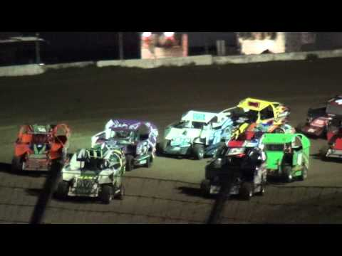 Liquid Nitro-Xcel 600 Mod Lite feature Cresco Speedway 5/31/15
