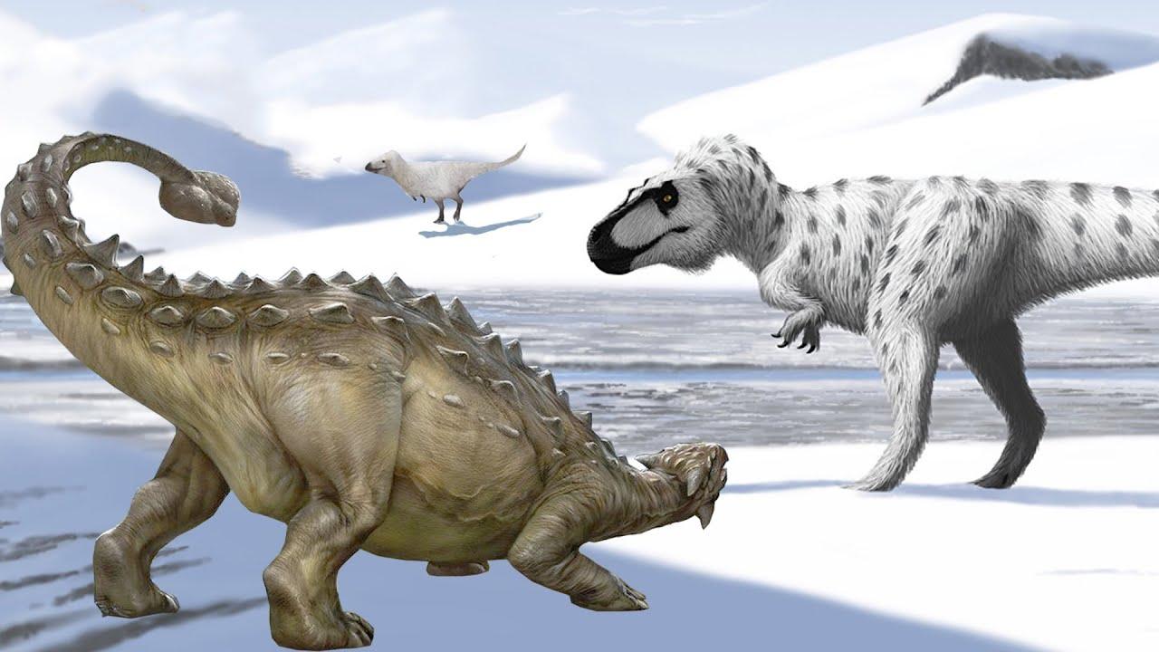 Динозавры и места их обитания на Земле. Часть 3