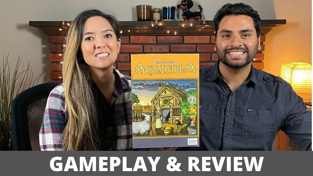 Agricola - Playthrough & Review (Uwe Rosenberg Series)