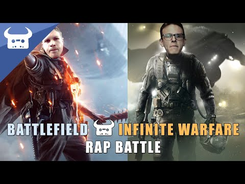 BATTLEFIELD 1 vs INFINITE WARFARE | Dan Bull vs Idubbbz rap battle