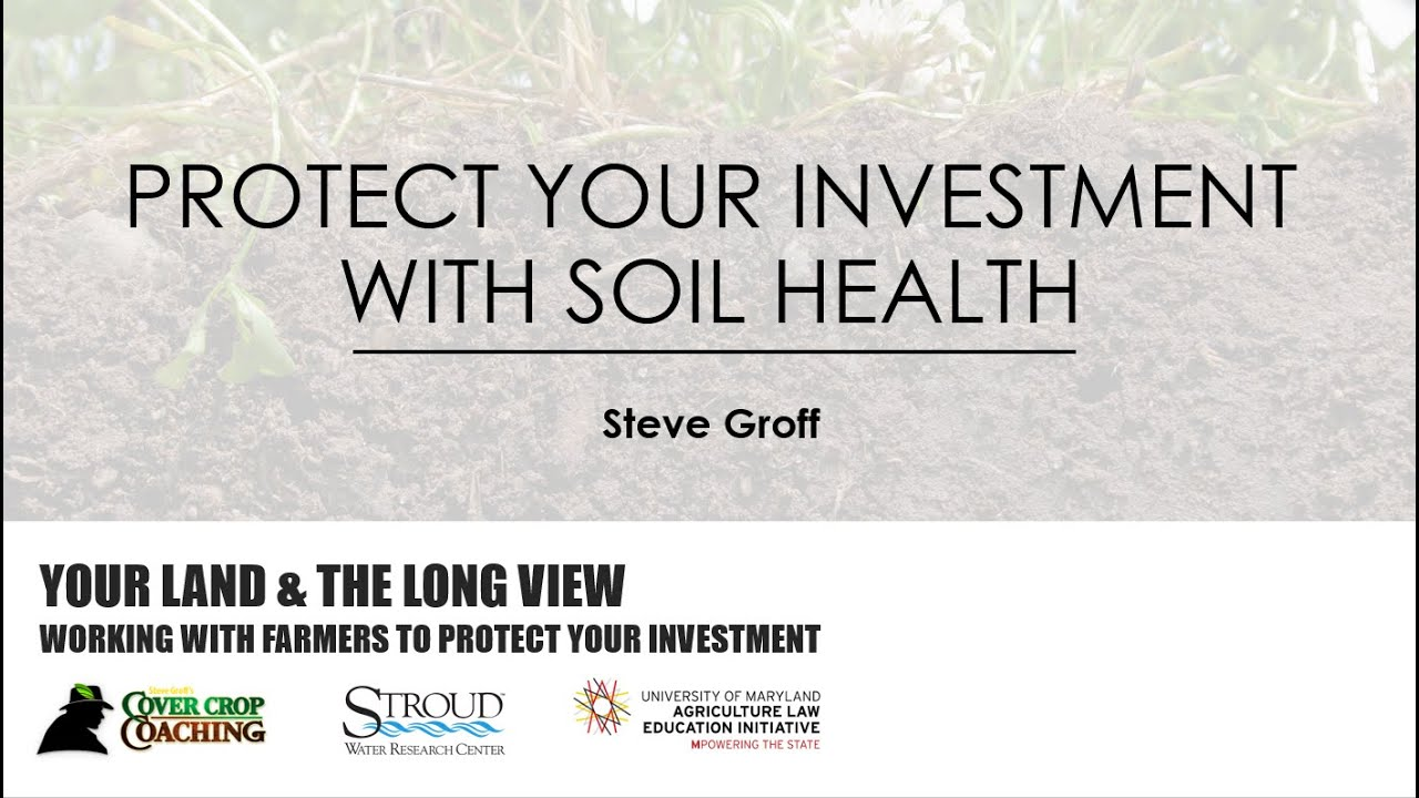 Your Land and the Long View- Working with Farmers to Protect Your Investment (Part 1, 57:07)