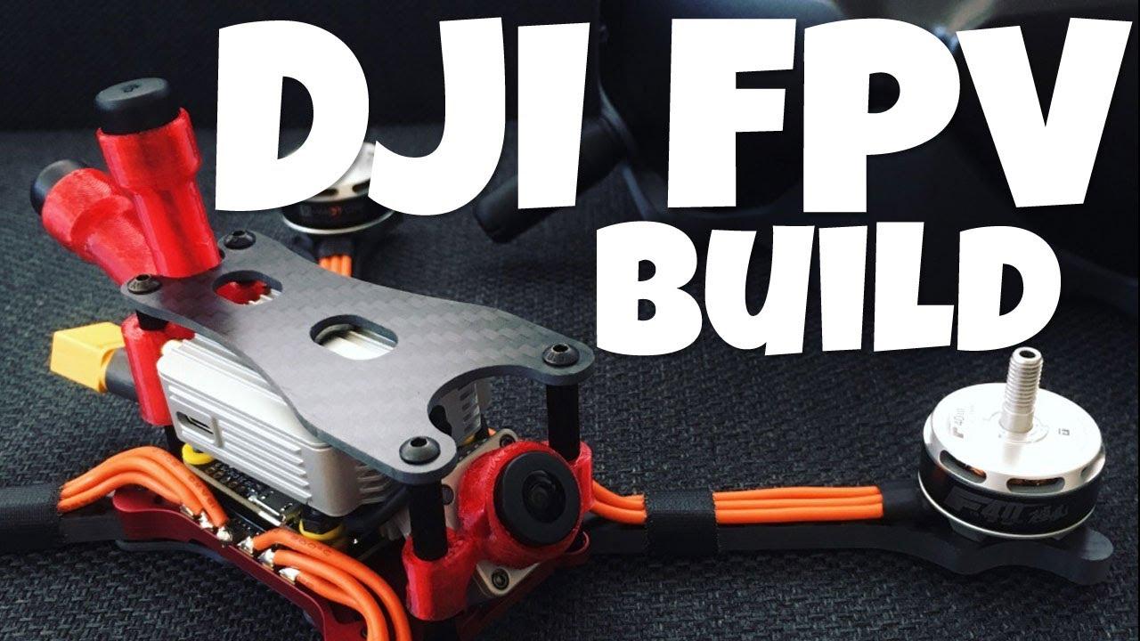 Download DJI FVP Build : HD Drone Racing!