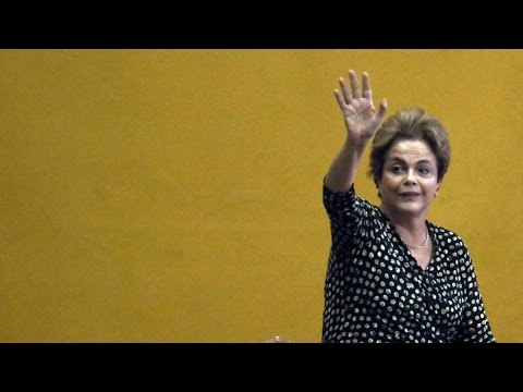 Brazil's President Dilma Rousseff Suspended, Will Face Impeachment