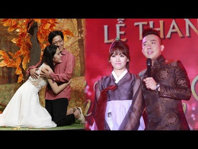 Cùng là danh hài nổi tiếng,mà cách Trường Giang đối diện với scandal tình ái lại kém xa Trấn Thành !