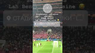 Via Vallen nonton langsung semifinal Piala Dunia 2018 di Rusia