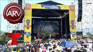 Venezuela AID Live: artistas unidos por una causa | Al Rojo Vivo | Telemundo