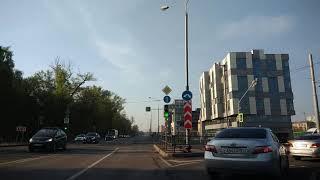 . Москва-Измайлово-Красная площадь. Поездка на автомобиле. 5 мая 2019 г.