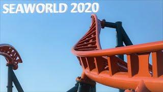 Ice Breaker Construction, New for SeaWorld 2020 - Hard Hat Tour 1/21/20