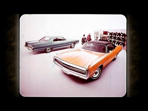 1971 Chrysler Vehicle Line Up Sales Features - Dealer Promo Film