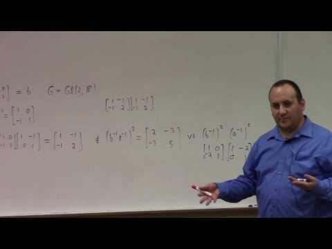 Abstract Algebra: practice problems, chapter 2 and 3 Gallian, 9-1-16