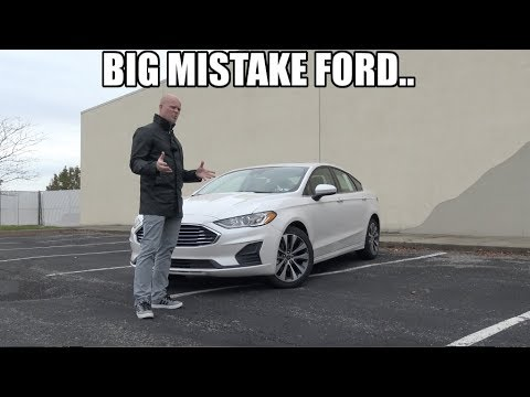 The 2019 Ford Fusion Could Be The Last Fusion We Ever See.. (What Is Ford Doing?)