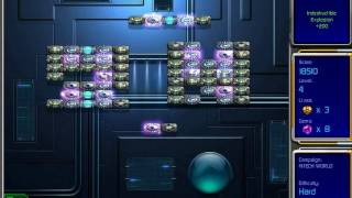 Hyperballoid 2: Time Rider gameplay, Hitech World Level 4 / Гиперболоид 2