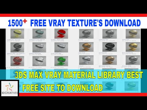 How To Download And Apply V Ray Materials In 3ds Max Tutorials