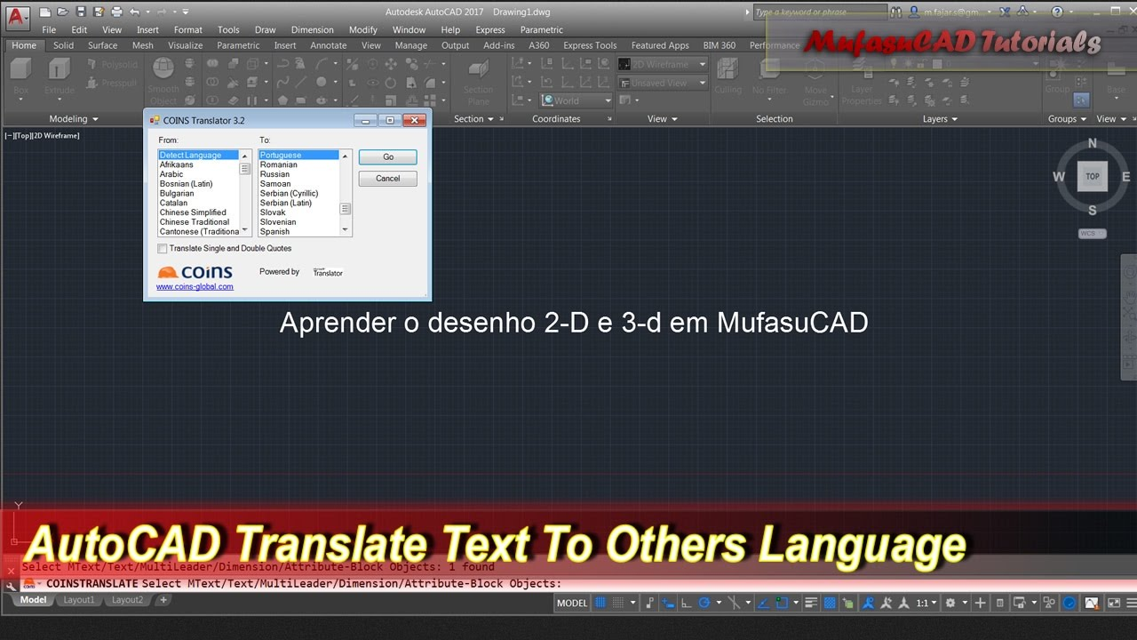 AutoCAD Tips Translate Text To Others Language